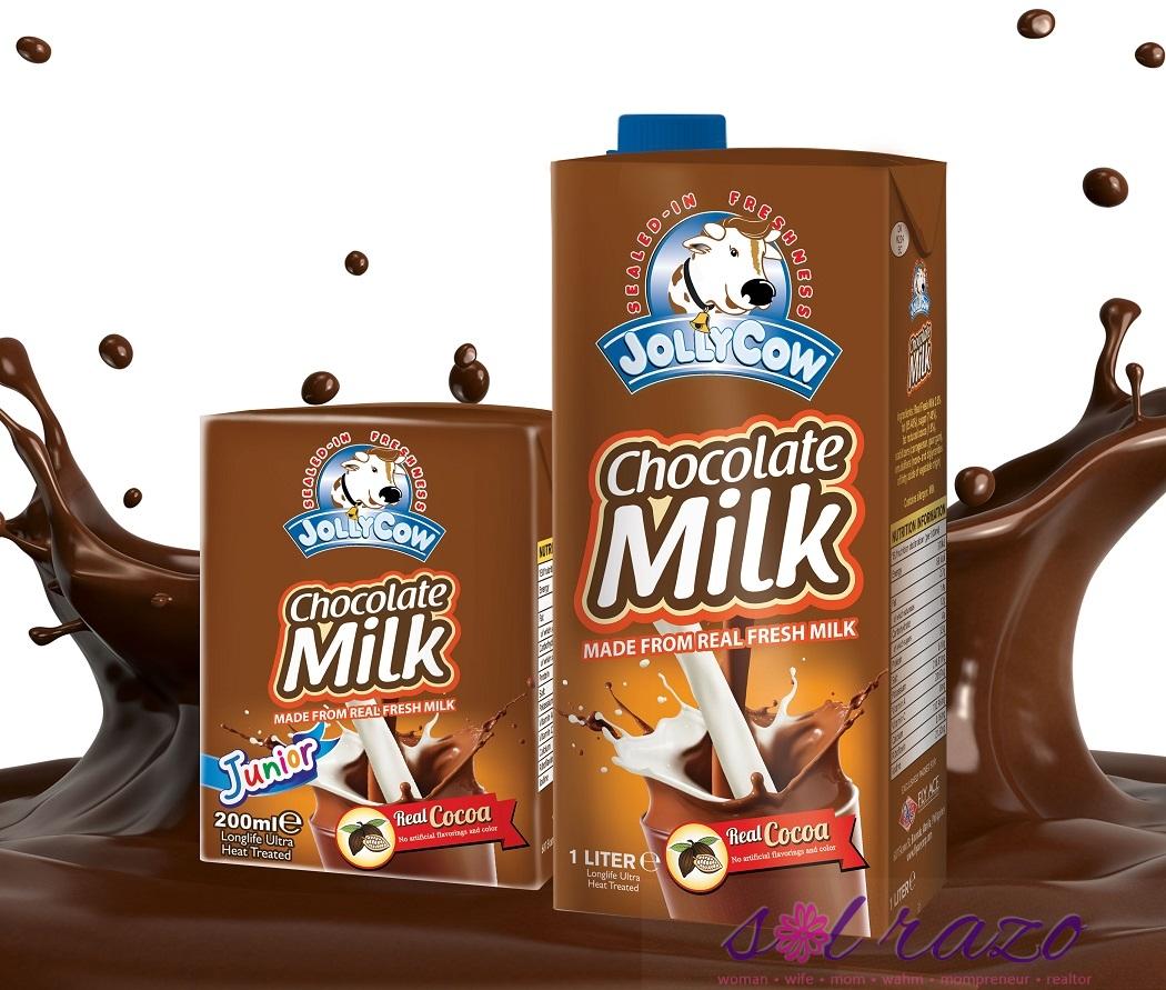 Jolly Cow Chocolate Milk