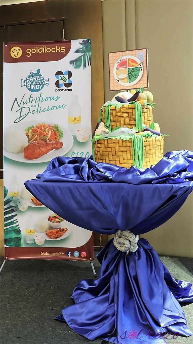 Goldilocks #PinggangPinoy Meals promotes educated eating