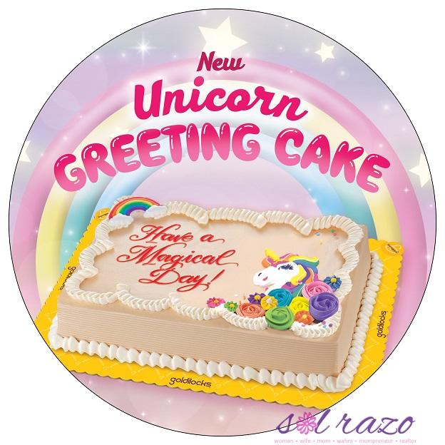 Goldilocks Unicorn Cake Design Sol Razo