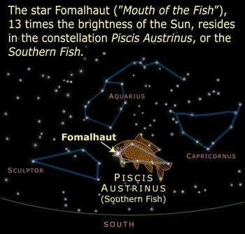 Piscis Austrinis - Image from solstation.com
