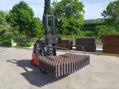 Forklift extensions 2 meters
