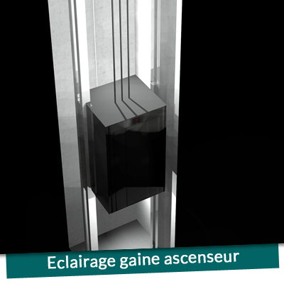 Eclairage Gaine Ascenseur Rglette Fluorescente