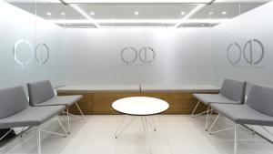 Asientos de diseño para sala de espera