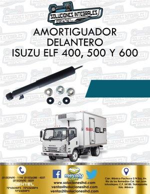 AMORTIGUADOR DELANTERO ISUZU ELF 400, 500 Y 600
