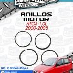 ANILLOS MOTOR ATOS 1.0L 2000-2005