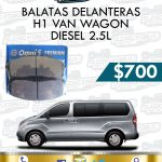 BALATA DELANTERA H1 VAN DIESEL 2.5L