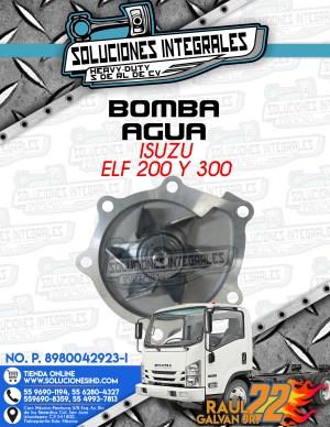 BOMBA AGUA ISUZU ELF 200 Y 300