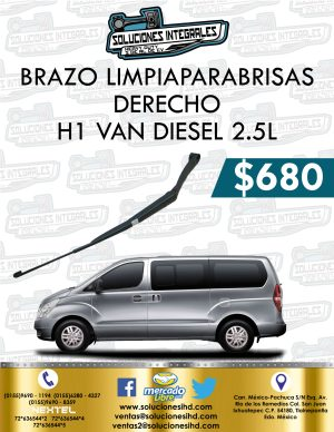 BRAZO LIMPIAPARABRISAS DERECHO H1 VAN DIESEL 2.5L