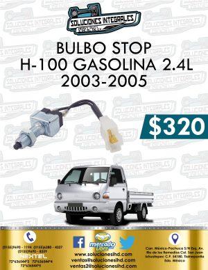BULBO STOP H100 GASOLINA 2.4L