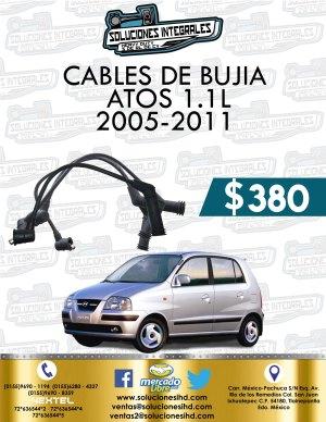 CABLES BUJÍA ATOS 1.1L