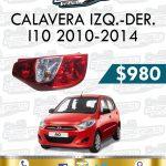 CALAVERA DER. O IZQ. I10 1.1L 2010-2014