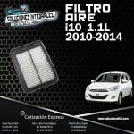 FILTRO AIRE I10 1.1L 2010-2014
