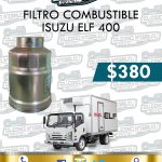 FILTRO COMBUSTIBLE ISUZU ELF 400