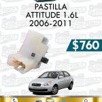 PASTILLA ATTITUDE 1.6L 2006-2011