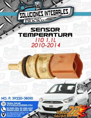 SENSOR TEMPERATURA  i10 1.1l