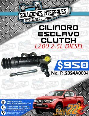 CILINDRO ESCLAVO CLUTCH L200 2.5L DIESEL