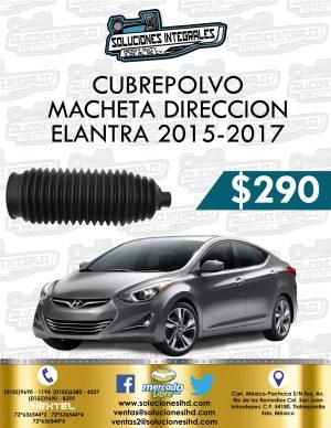 CUBREPOLVO CAJA DIRECCIÓN ELANTRA 1.8L 2015-2017