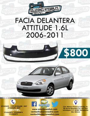 FACIA DELANTERA ATTITUDE 1.6L 2006-2011