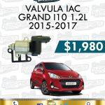 VÁLVULA IAC GRAND I10 1.2L 2015-2017