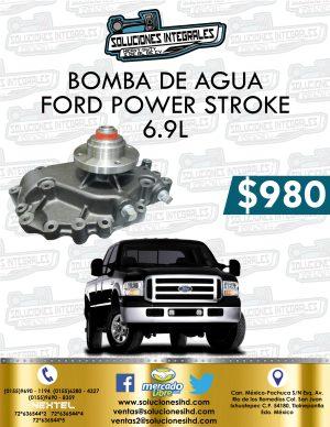 BOMBA AGUA POWER STROKE 6.9L