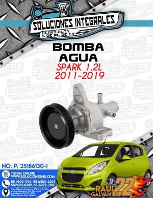 BOMBA AGUA SPARK 1.2L 2011-2019