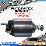 AUTOMÁTICO MARCHA POINTER 1.8l 1998-2004