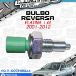 BULBO REVERSA PLATINA 1.6L 2001-2012