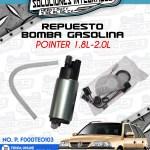 REPUESTO BOMBA GASOLINA POINTER 1.8L Y 2.0L