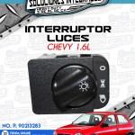 INTERRUPTOR LUCES CHEVY 1.6L