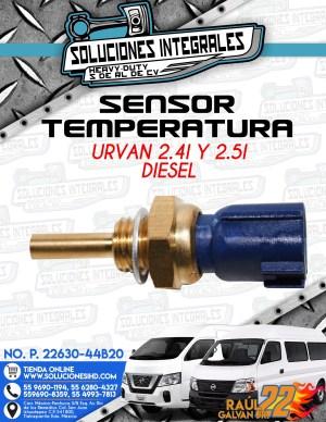 SENSOR TEMPERATURA URVAN 2.4L Y 2.5L DIESEL