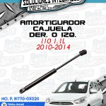 AMORTIGUADOR CAJUELA DER.O IZQ. I10 1.1L
