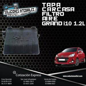 TAPA CARCASA FILTRO AIRE GRAND I10 1.2L