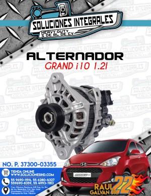 ALTERNADOR GRAND i10 1.2L