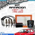 KIT AFINACIÓN CHEVY 1.6L 1996-2003
