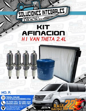 KIT AFINACIÓN H1 VAN THETA 2.4L