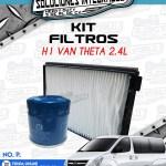 KIT FILTROS H1 VAN THETA 2.4L