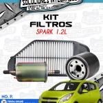 KIT FILTROS SPARK 1.2L