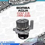 BOMBA AGUA GOLF 2.0L 1999-2006