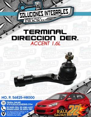 TERMINAL DIRECCIÓN DERECHO ACCENT 1.6L
