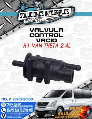 VALVULA CONTROL VACIO H1 VAN THETA 2.4L