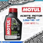 MOTUL ACEITE MOTOR MOTO 10W-40 4T
