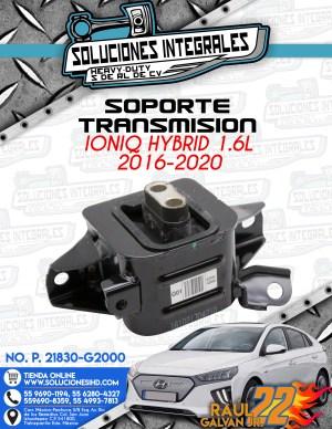SOPORTE TRANSMISION IONIQ HYBRID 1.6L 2016-2020