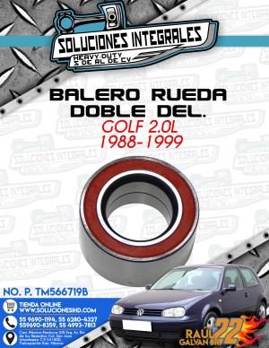 BALERO RUEDA DOBLE DELANTERO GOLF 2.0L 1988-1999