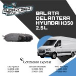 BALATA DELANTERA HYUNDAI H350 2.5L ORIGINAL