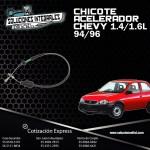 CHICOTE ACELERADOR CHEVY 1.4/1.6L 94-96