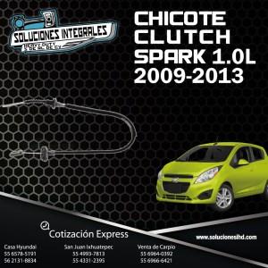 CHICOTE DE CLUTCH SPARK 1.2 09/13
