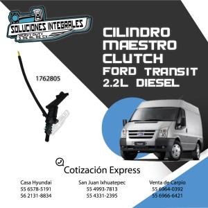 CILINDRO MAESTRO CLUTCH FORD TRANSIT 2.2L DIESEL