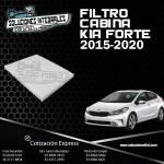 FILTRO CABINA KIA FORTE 15-20