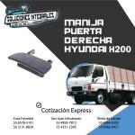 MANIJA PUERTA EXTERIOR DERECHA HYUNDAI H200
