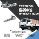 TERMINAL DIRECCION DERECHA HYUNDAI H200